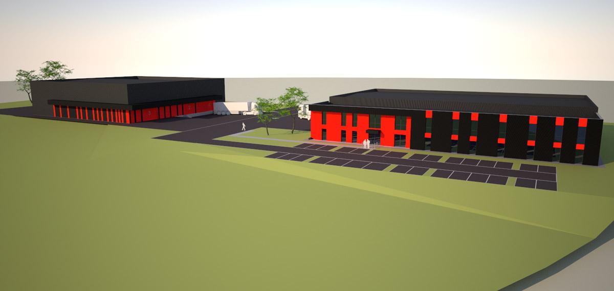 Plan de Sportitude La Châtaigneraie créé par l'agence d'architecture DGA