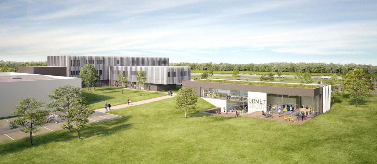 Construction bâtiment industriel Matelec Cholet - DGA Architectes
