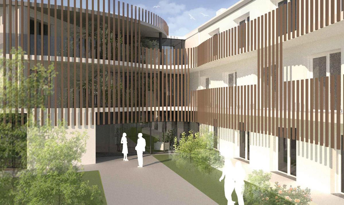 EHPAD La Joncière à Boussay, travaux réalisé par DGA Architectes