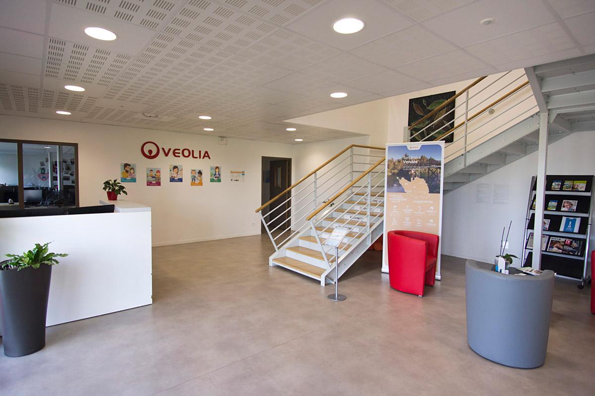 Espace accueil Véolia La Roche sur Yon - DGA Architectes