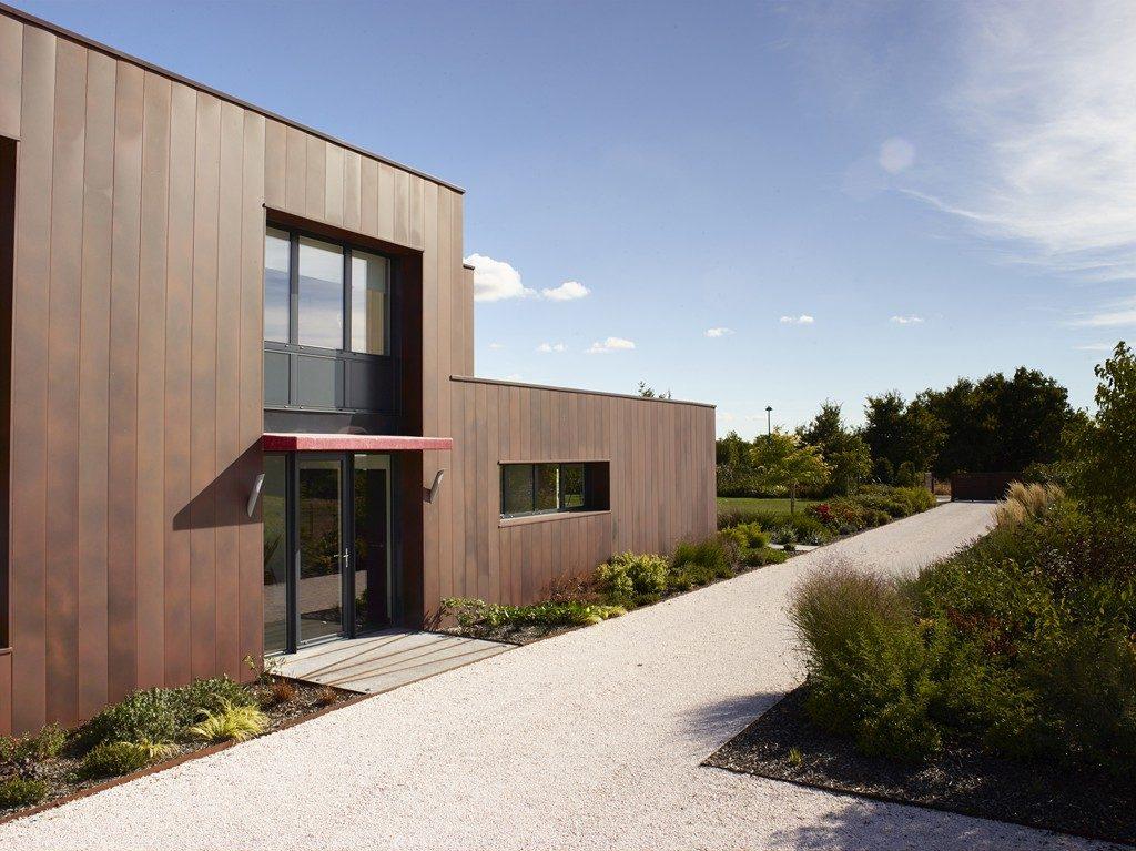 Devanture maison Bazoges en Paillers - DGA Architectes