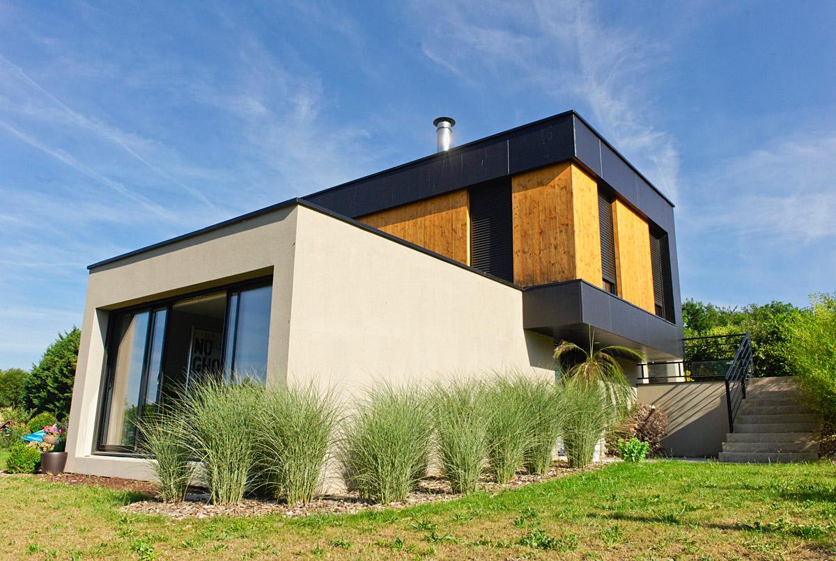 Construction maison individuelle écoquartier des Herbiers - DGA Architectes