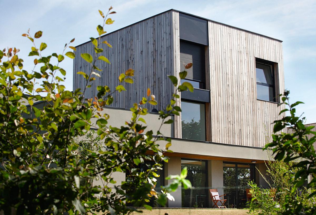 Maison à étage réalisée aux Herbiers pas le cabinet DGA Architectes
