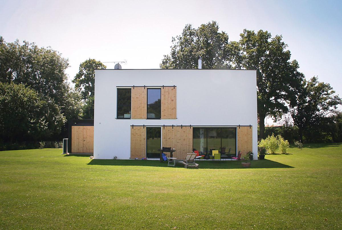 Maison d'architectes réalisée par l'agence DGA des Herbiers