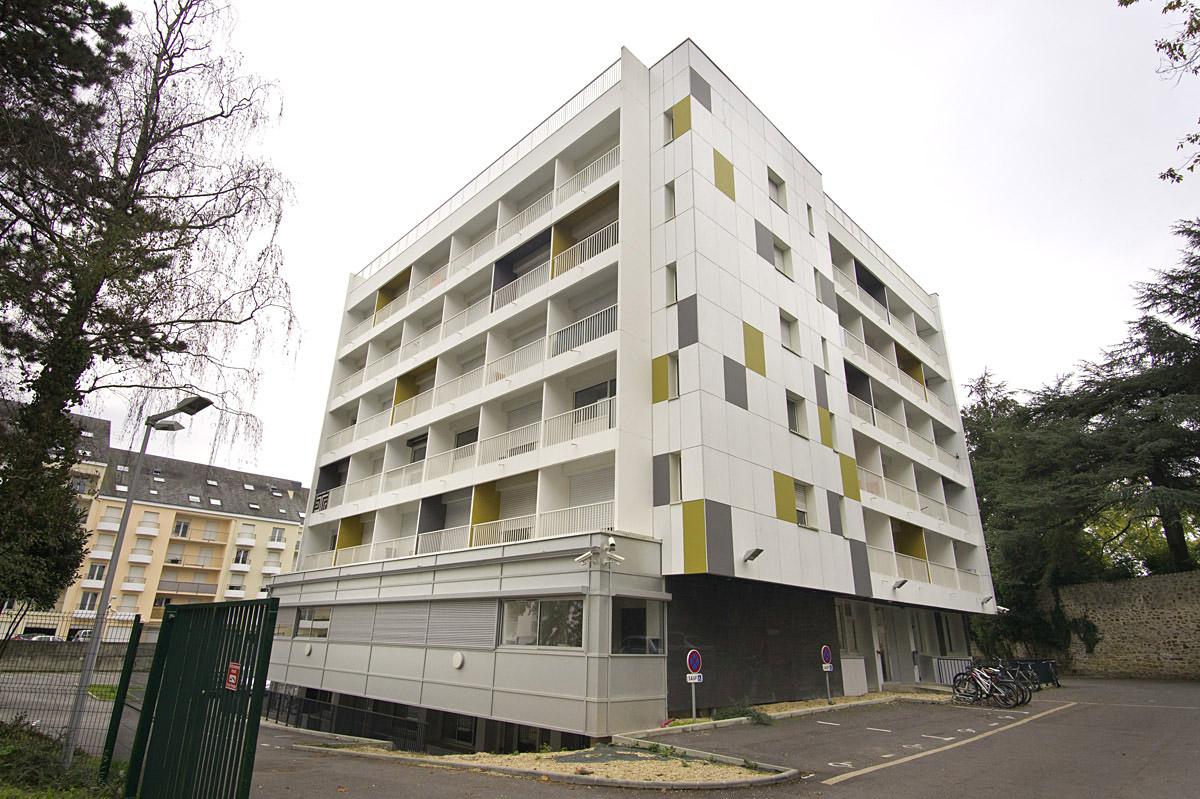 Réhabilitation de 84 studios à la Roche sur Yon par le cabinet DGA Architectes