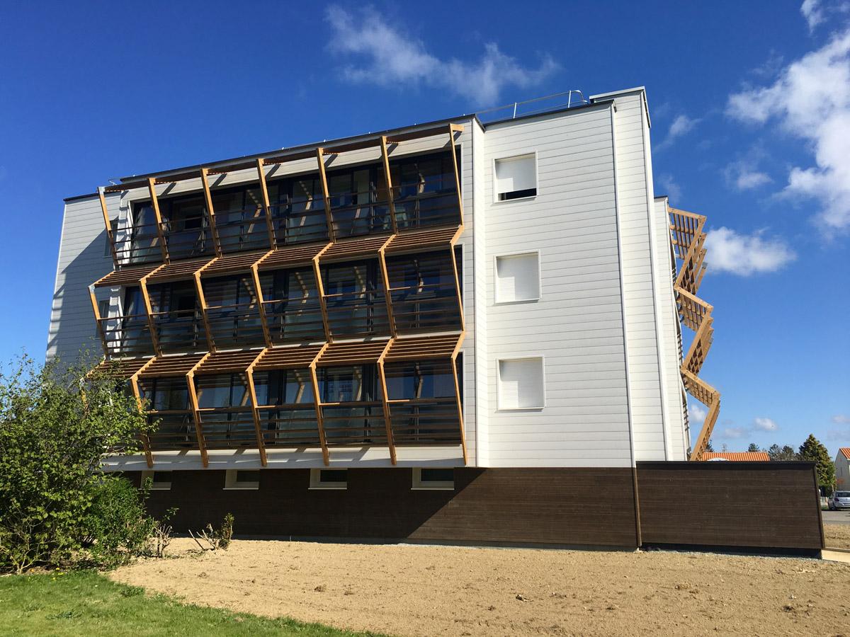 Réhabilitation d'un immeuble pour le cabinet DGA Architectes Vendée