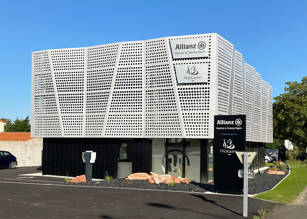 Batîment de bureaux en Vendée - DGA Architectes