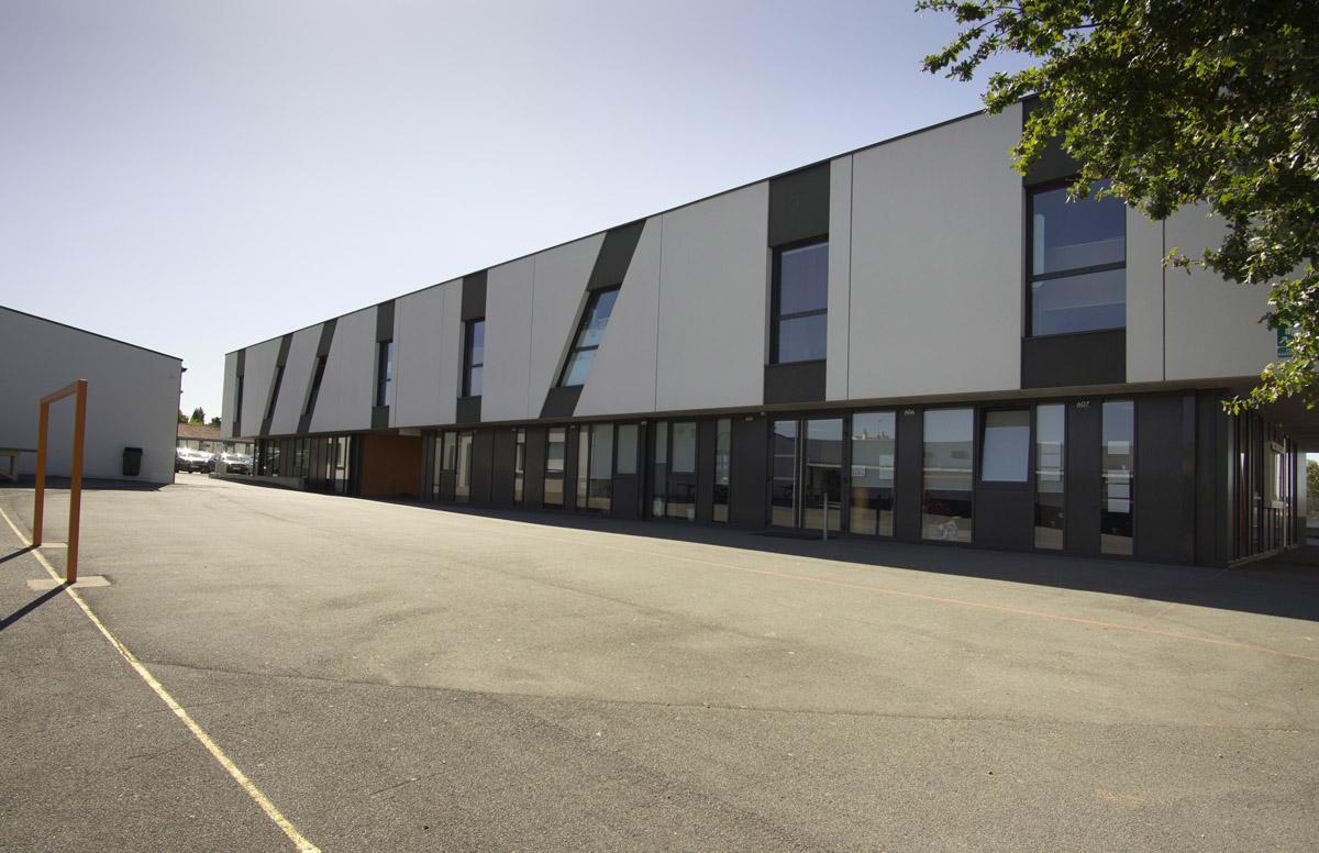Extension de la salle de sport de Jean Yole - DGA Architecte Vendée
