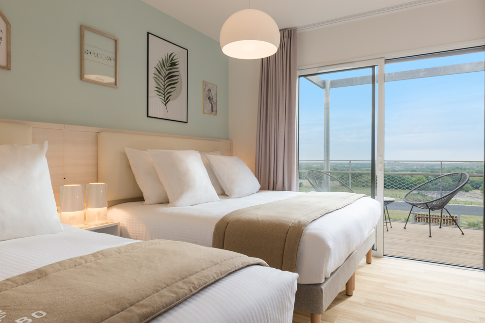 Un hôtel de 40 chambres réalisé par le cabinet d'architecture DGA les Herbiers