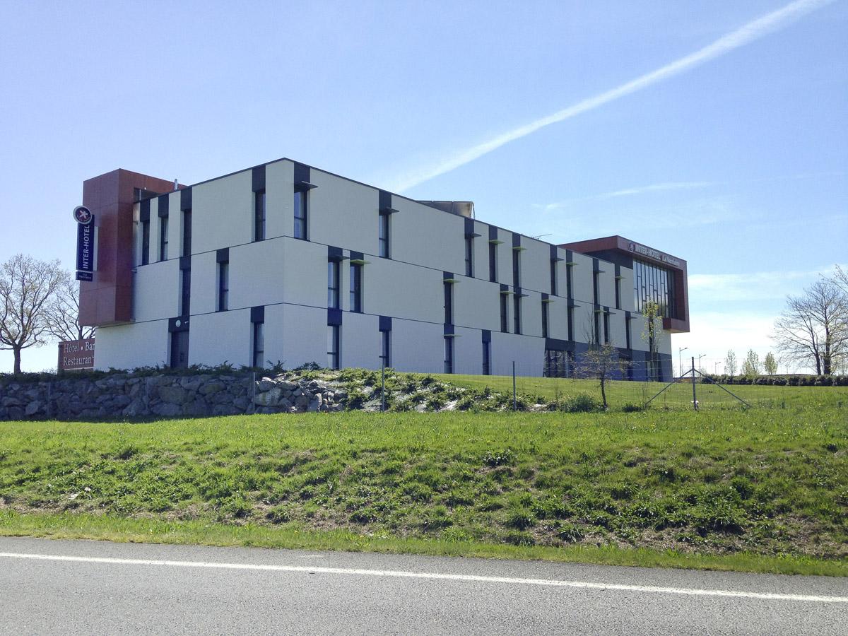 Construction d'un hôtel à la Verrie par DGA Architectes