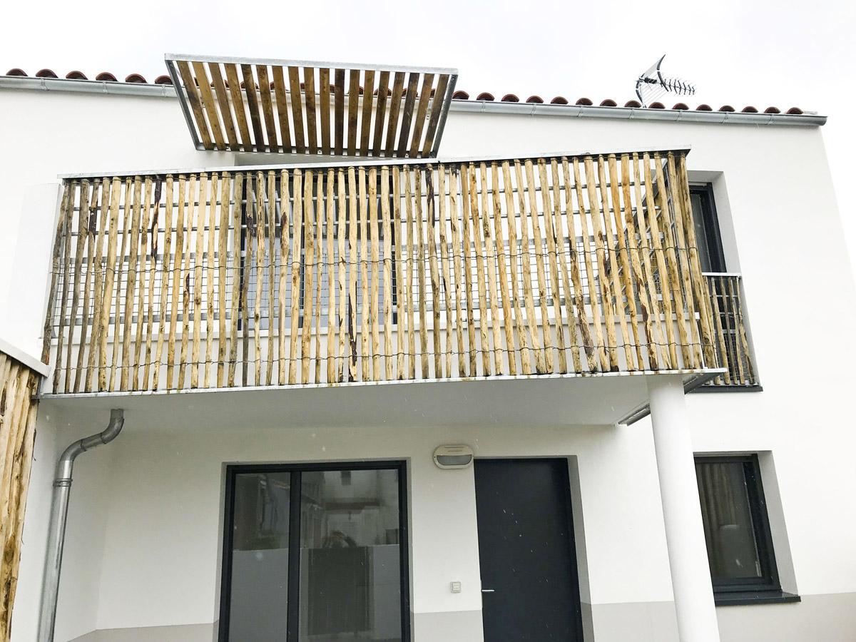 Réalisation logements collectif Ile de Noirmoutier par l'agence DGA Architectes des Herbiers
