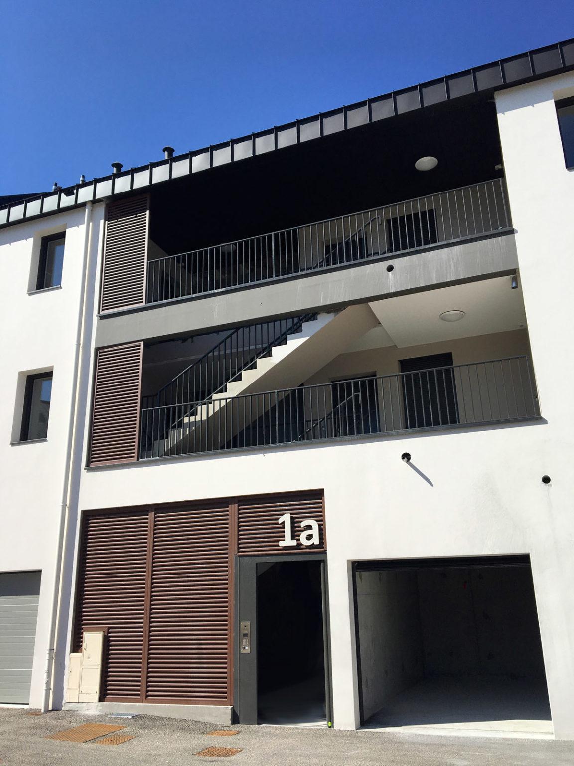 Entre des logements à Mortagne sur Sèvre - DGA Architectes