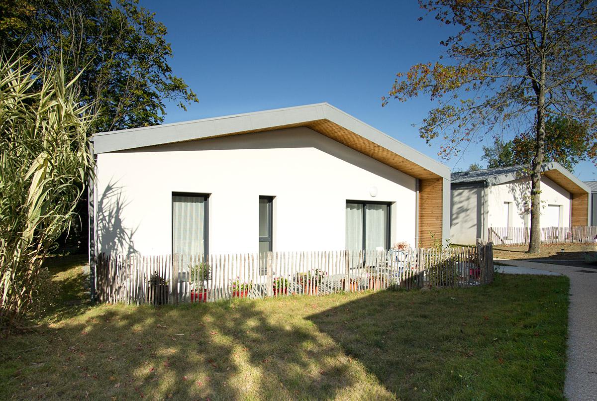 Projet de 5 logements en Vendée par le cabinet DGA Architectes