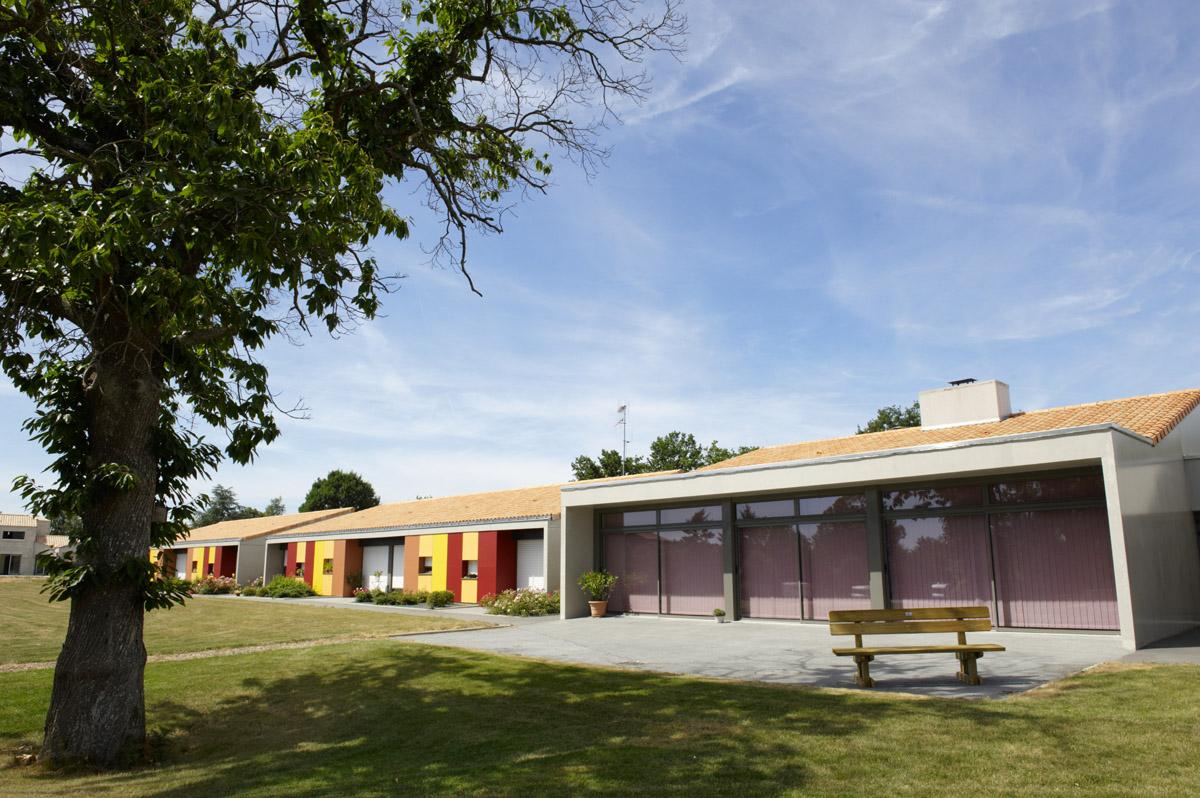 Jardin Marpa de Vendrennes réalisé par DGA Architectes