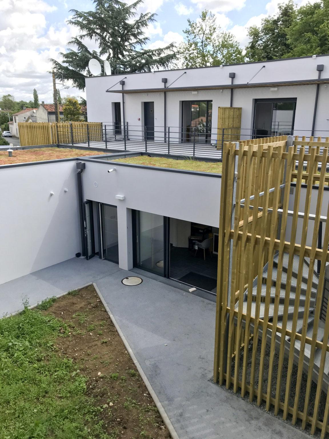 15 logements construit par les architectes de DGA