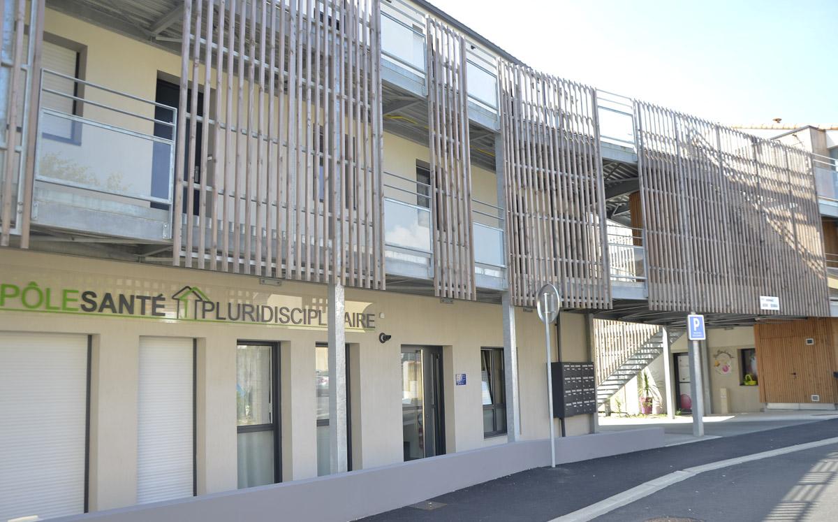 Construction d'un pôle pluridisciplinaires par DGA Architectes
