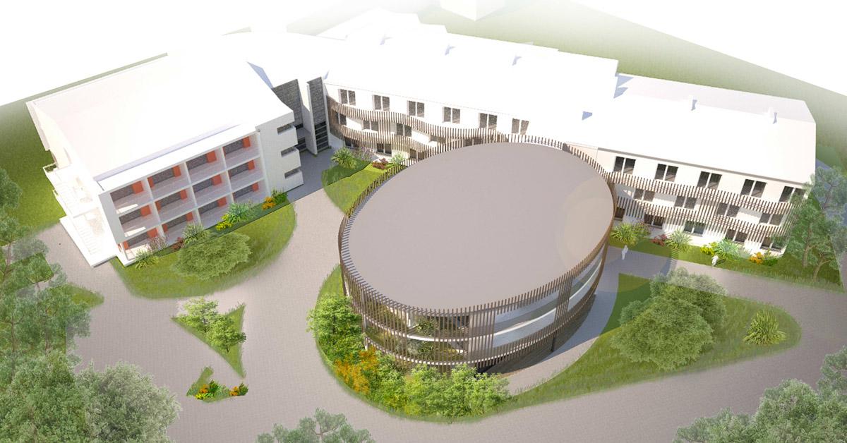 Extension de l'EHPAD de Boussay par le cabinet DGA Architectes