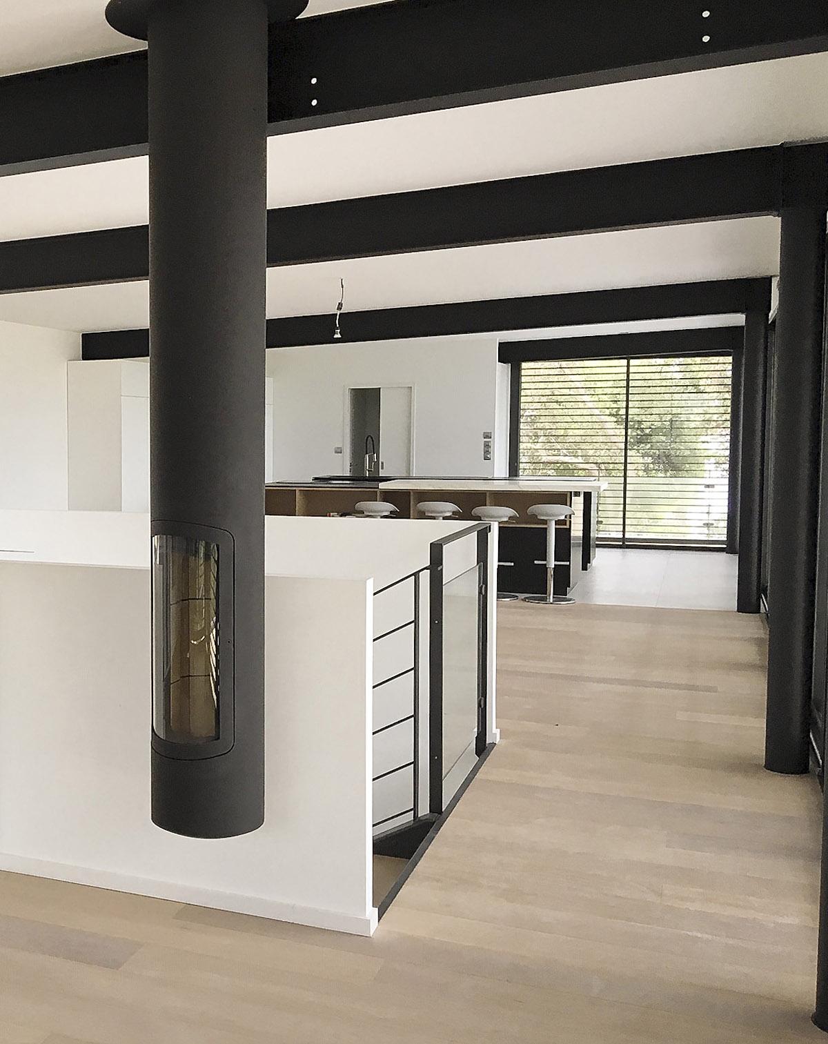 Architecture intérieure maison individuelle réalisée par l'agence DGA des Herbiers