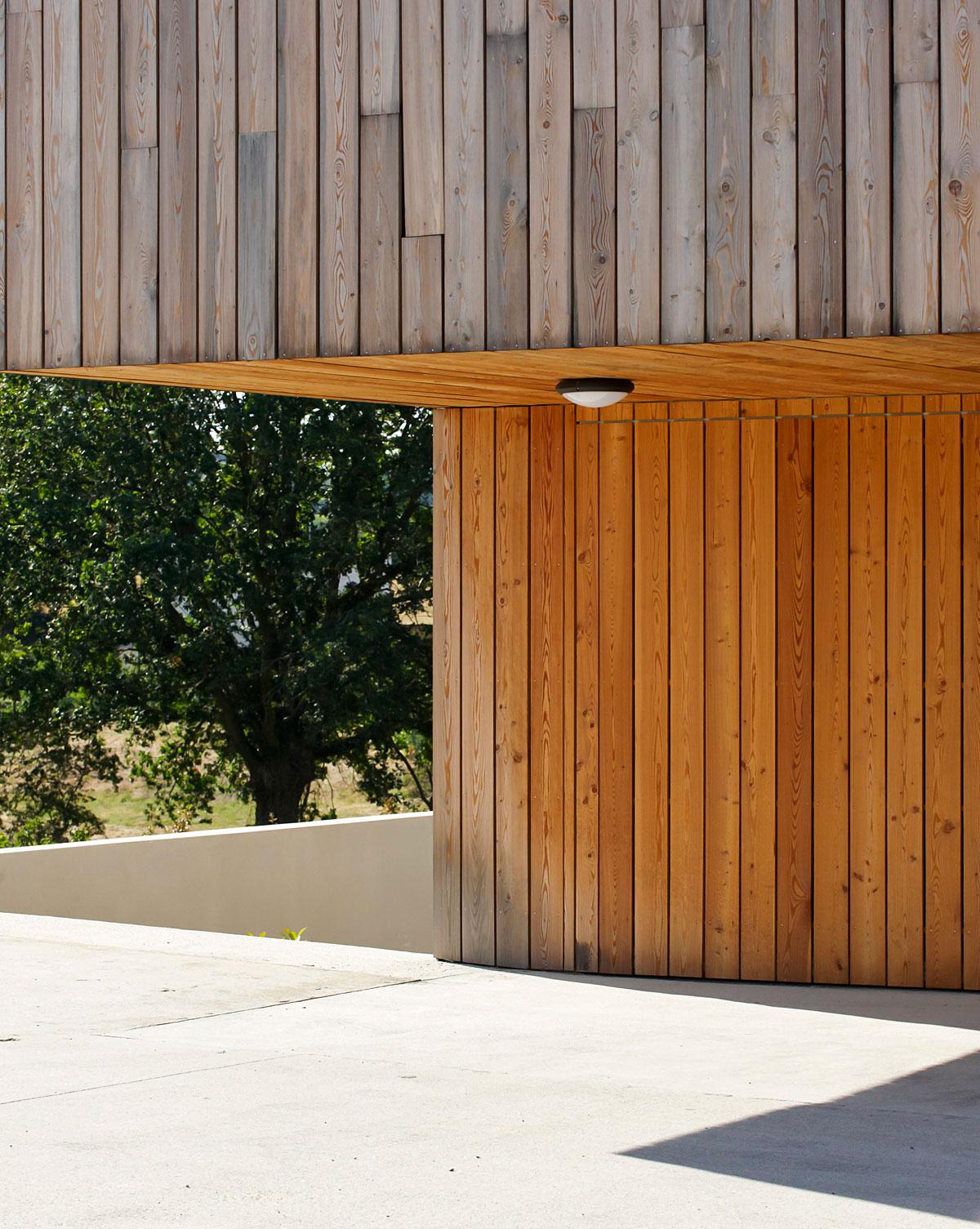 Maison avec bois construite par les architectes de DGA Architectes