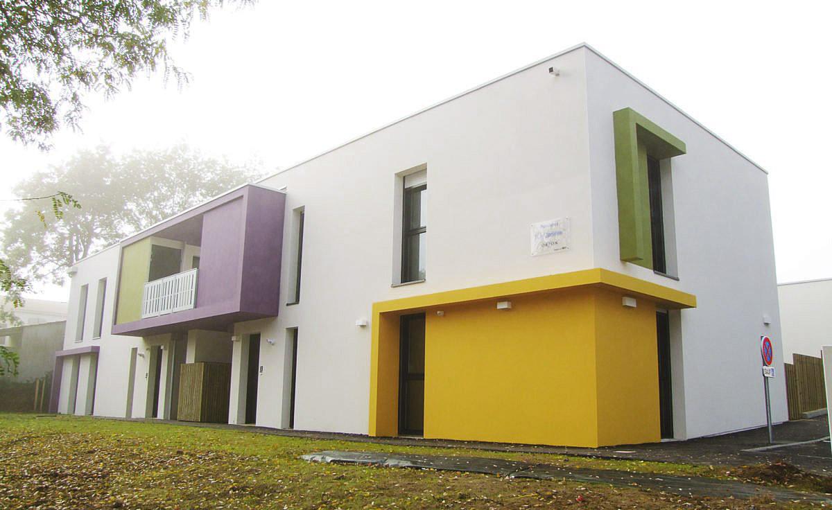 Construction de logement à Dompierre sur Yon par le cabinet DGA Architectes