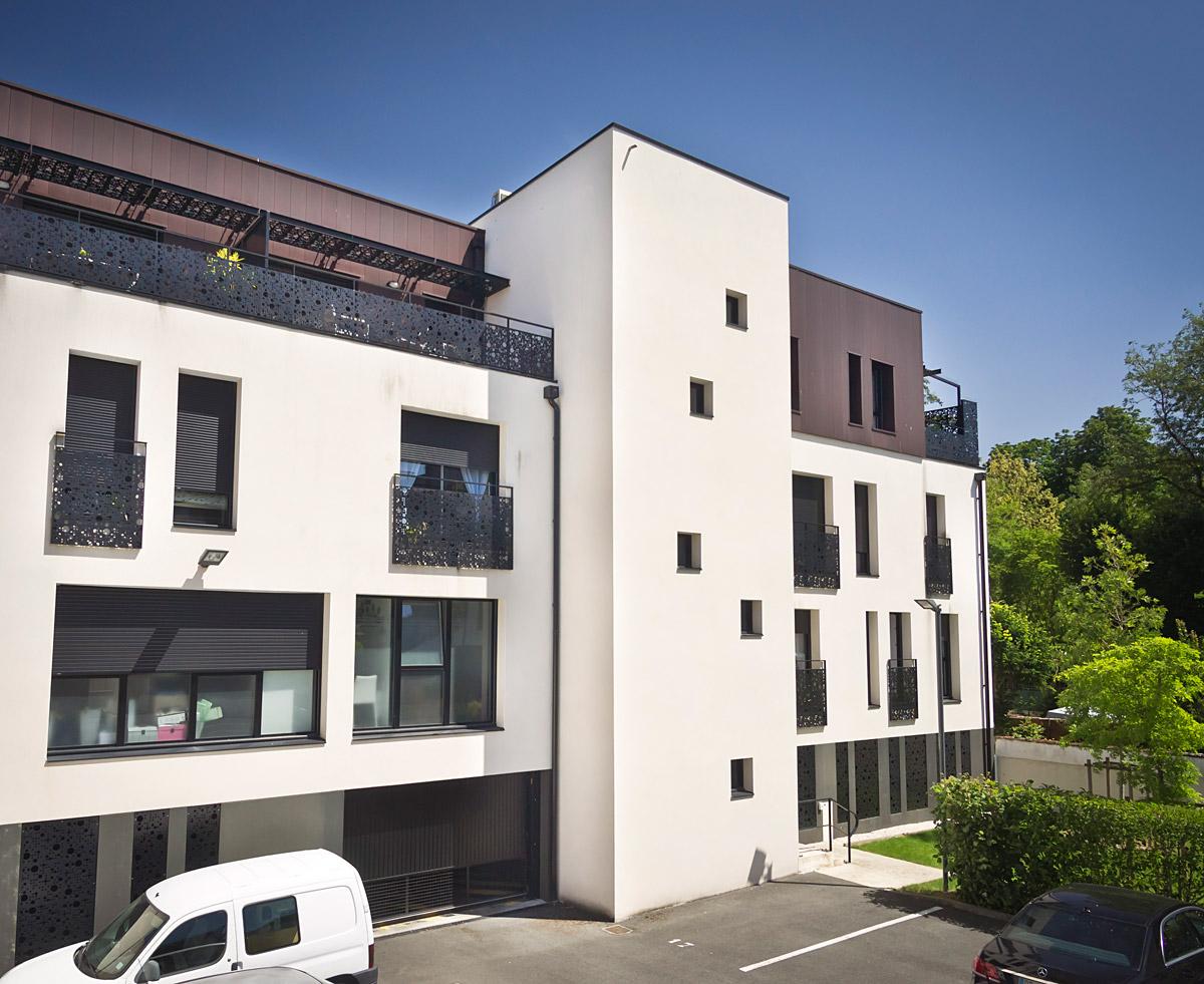Cabinet DGA Architectes pour la construction de 3 immeubles en Vendée