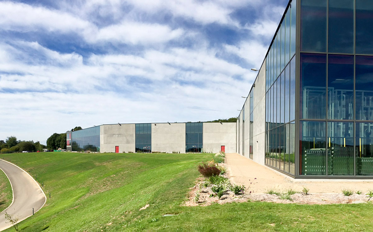 Entreprise industriel et son restaurant au Temple - DGA Architectes