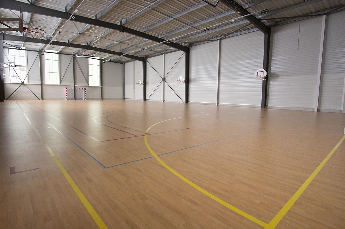 Construction de la salle de sport collège Jean Yole par DGA Architectes