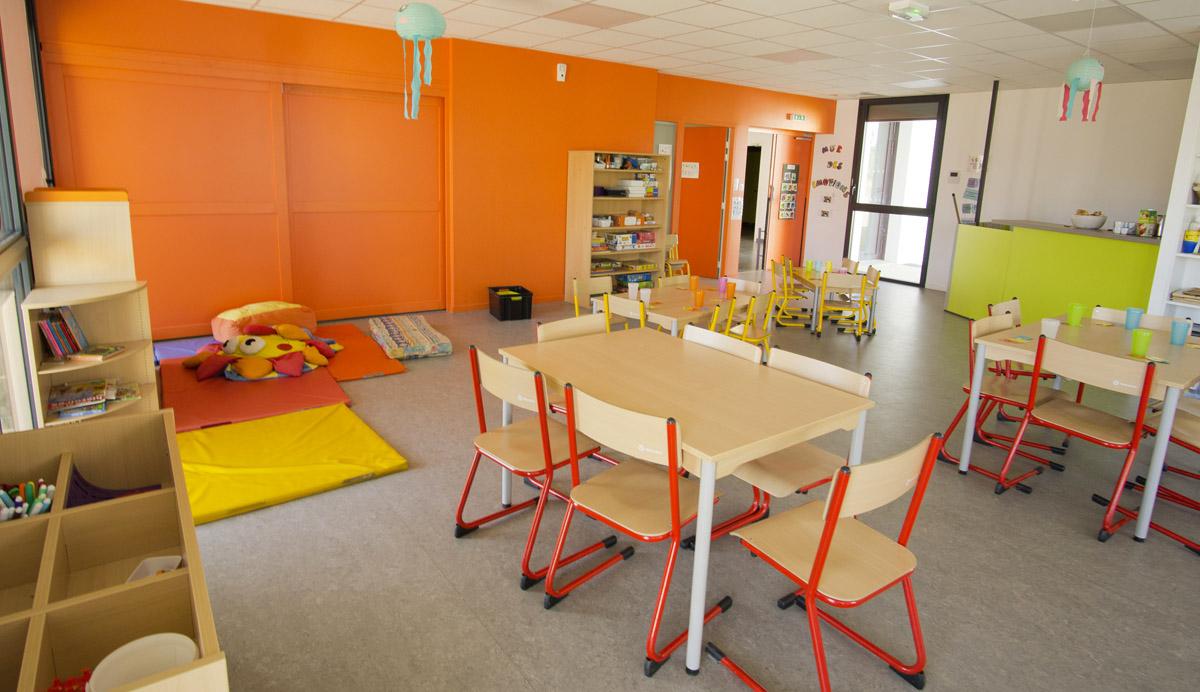 Salle d'accueil pensée par les experts de chez DGA Vendée