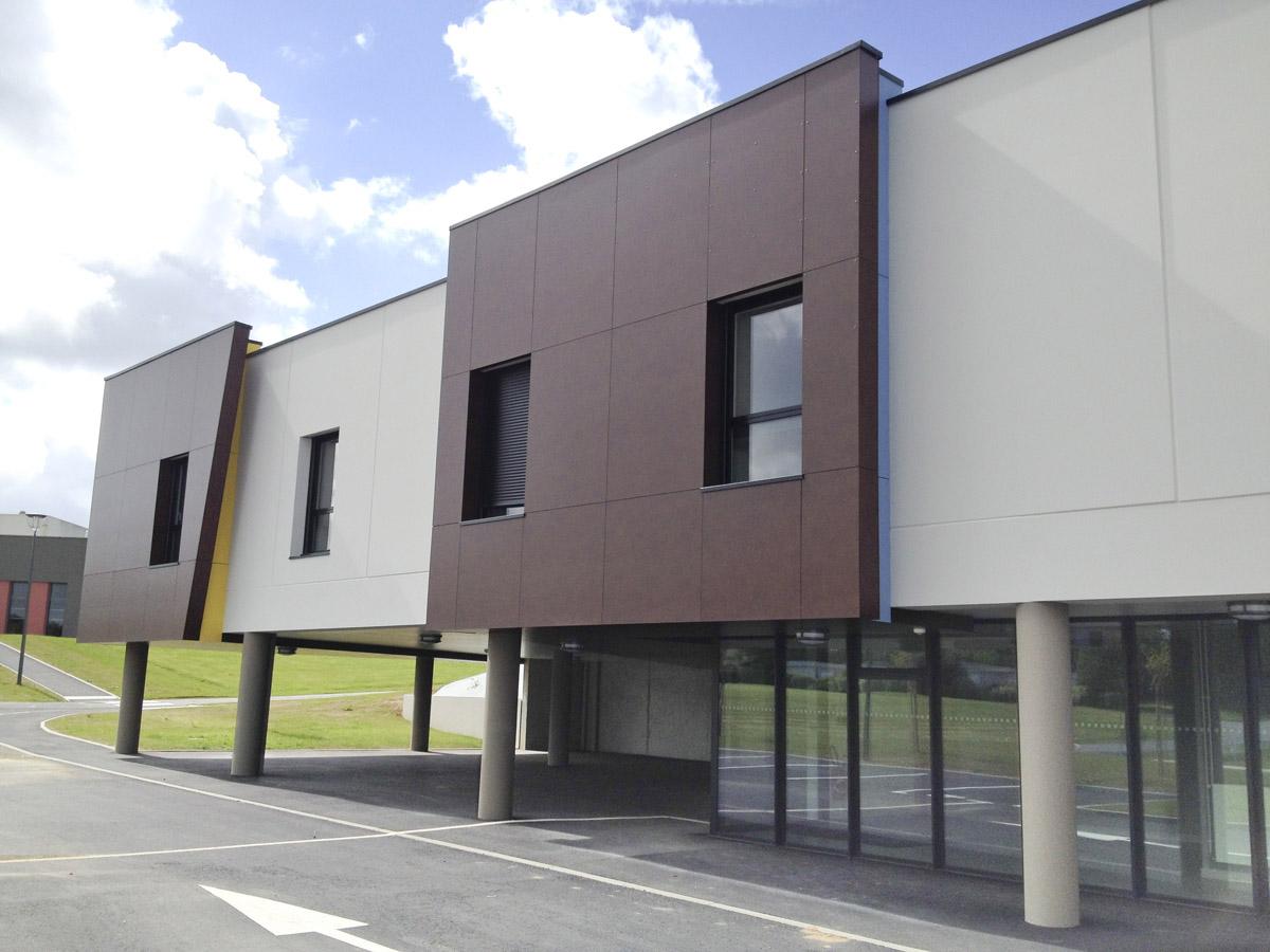 Réalisation du CFA de St Michel Mont Mercure - DGA Architectes