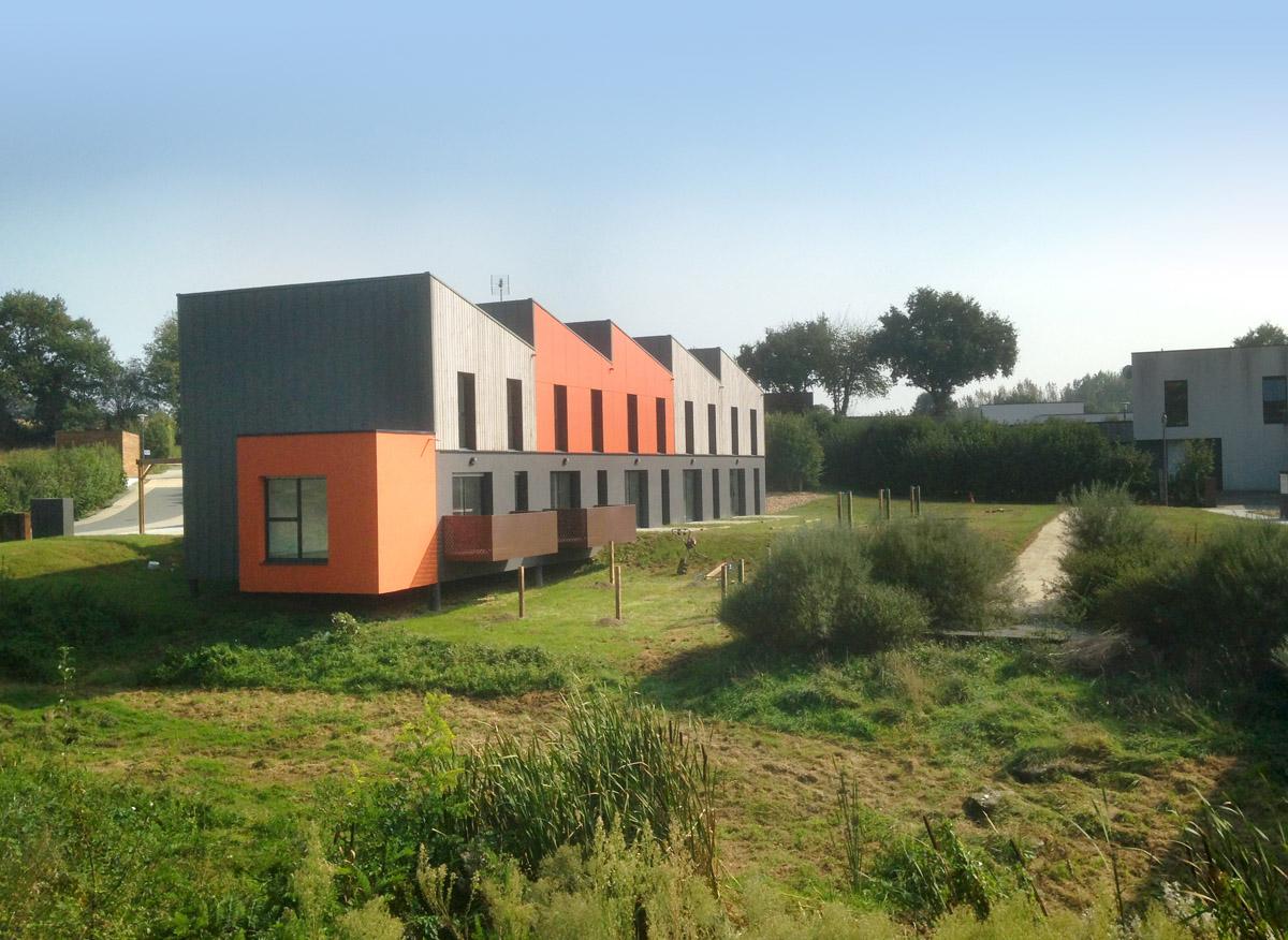 Création de 13 logements locatifs aux Herbiers par DGA Architectes