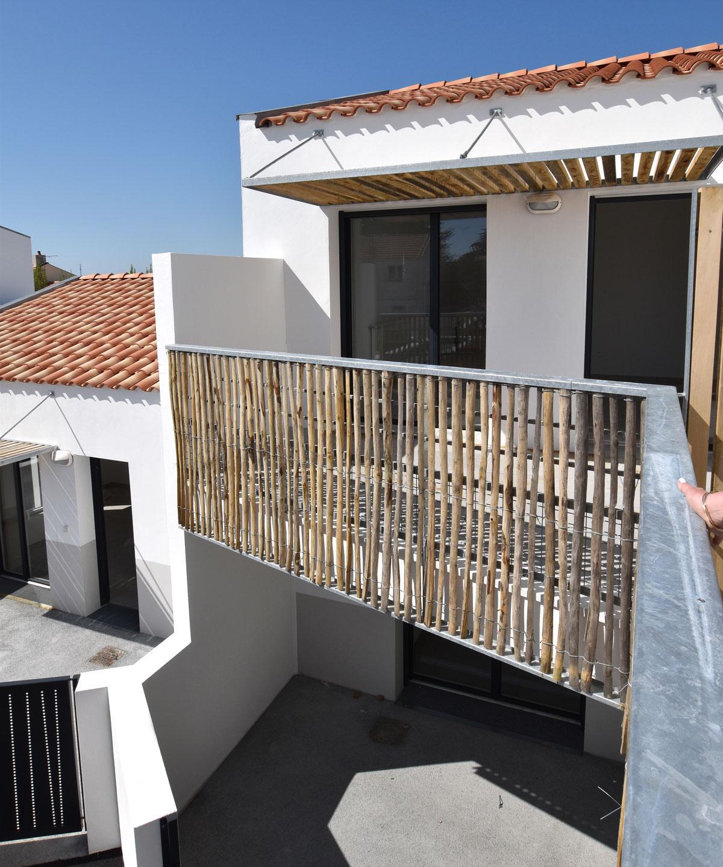 12 logements construit par les architectes de DGA les Herbiers