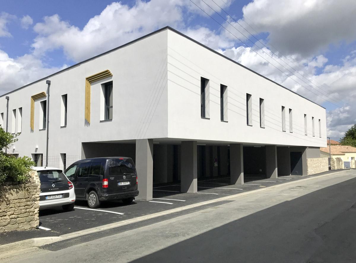 CHRS les Sablières Fontenay le Compte - DGA Architectes