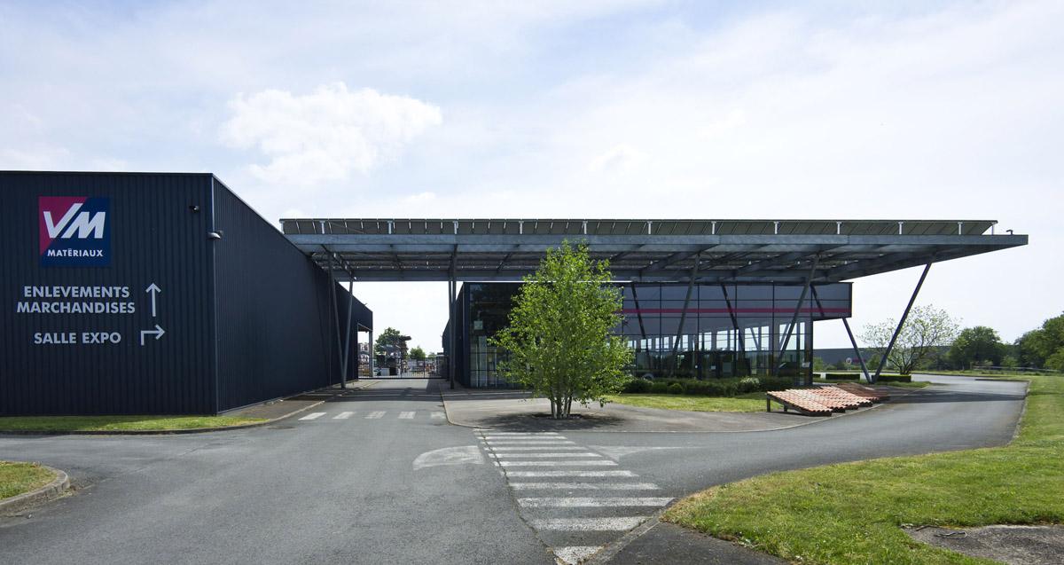 Conception de VM Matériaux les Herbiers - DGA Architectes