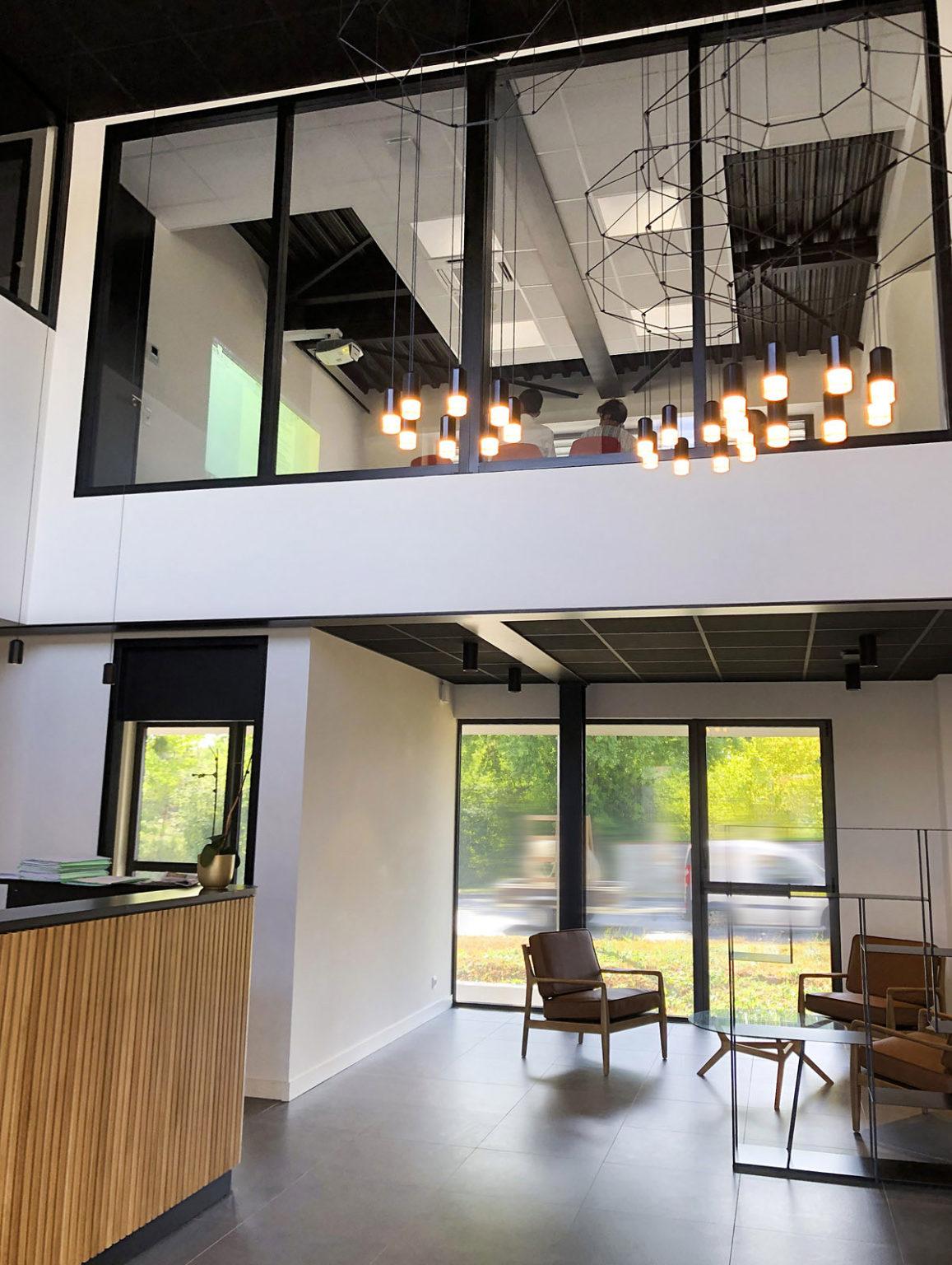Architecture intérieure bureaux aux Herbiers - DGA Architectes