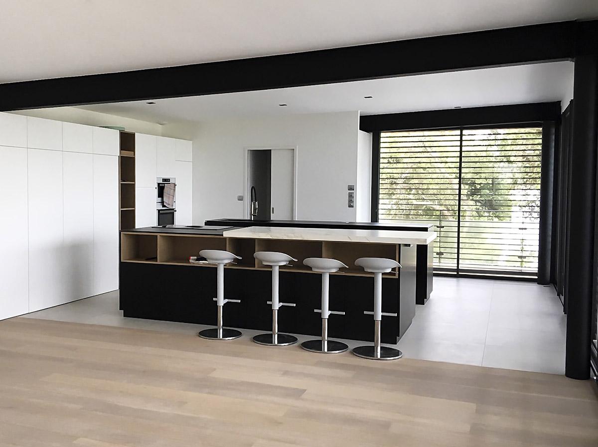 Cuisine maison architectes - DGA Architectes les Herbiers