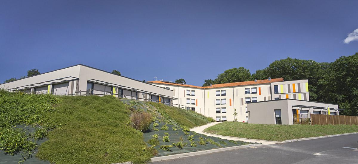 Restructuration et extension de l'EHPAD des Herbiers par l'agence DGA Architectes