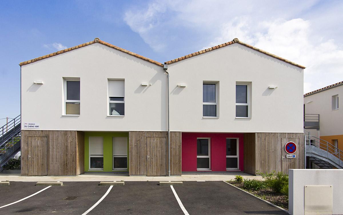 Réalisation de logements individuels aux Herbiers - DGA Architectes