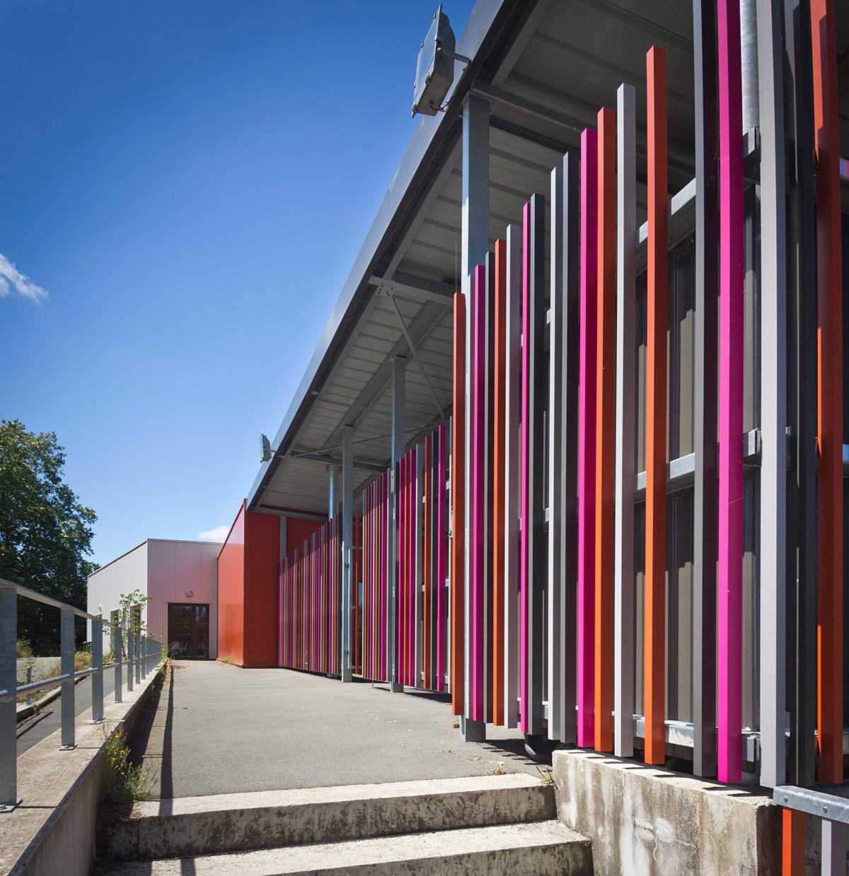 Rénovation et extension école les Herbiers par le cabinet architecturale DGA