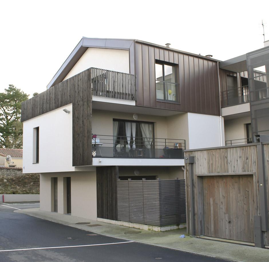 Architecture logement locatif par les professionnels de DGA Architectes