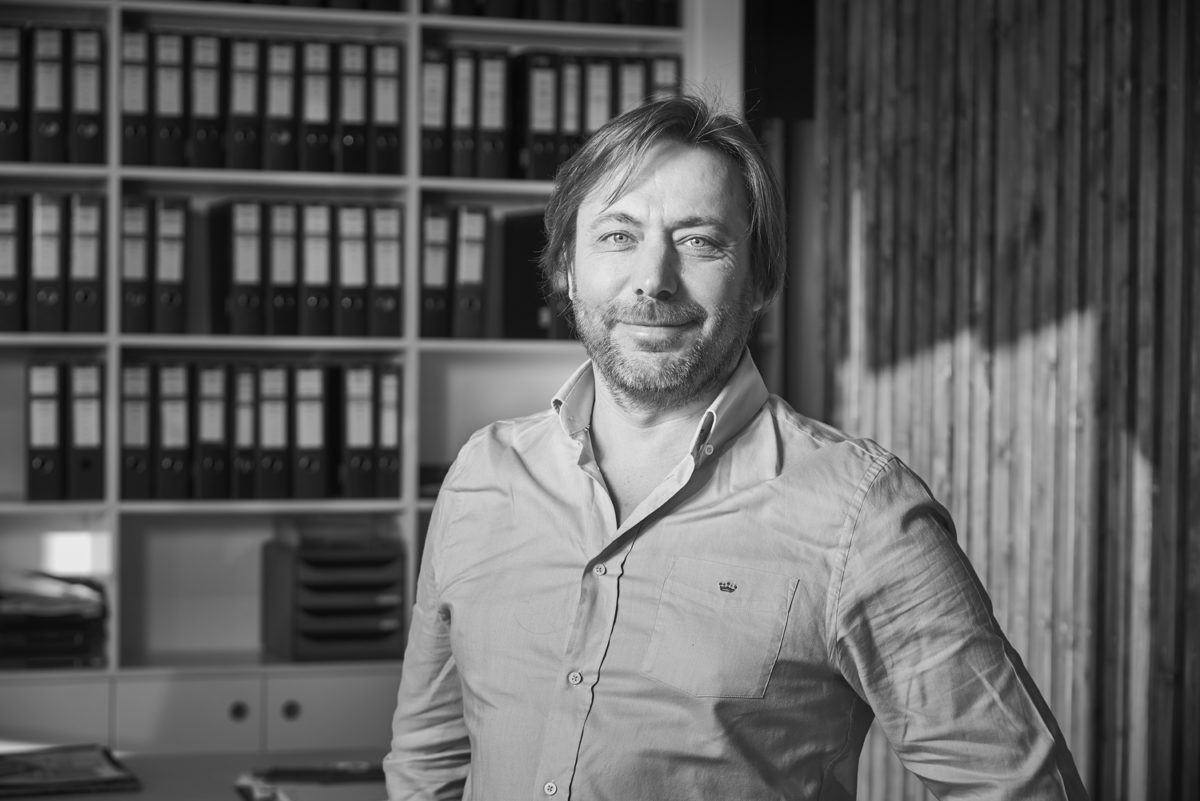 Portrait du responsable de l'agence DGA Architectes aux Herbiers